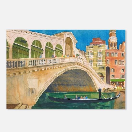 Venice Rialto Bridge Postcards (Package of 8)