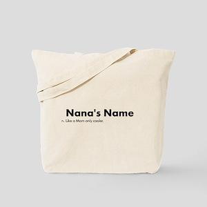 Grandma Definition Personalized Tote Bag