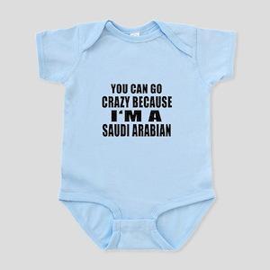 Saudi Arabian Designs Infant Bodysuit