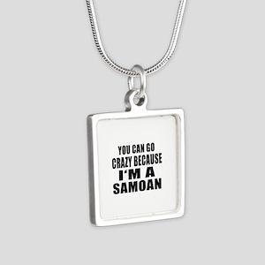 Samoan Designs Silver Square Necklace