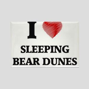 I love Sleeping Bear Dunes Michigan Magnets