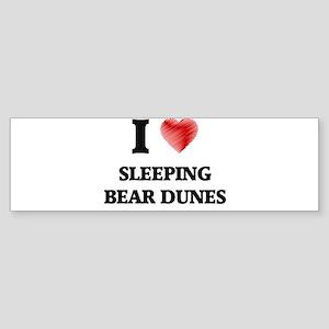 I love Sleeping Bear Dunes Michigan Bumper Sticker