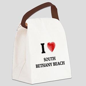I love South Bethany Beach Delawa Canvas Lunch Bag