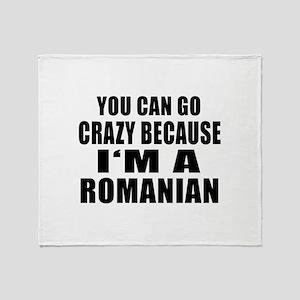 Romanian Designs Throw Blanket