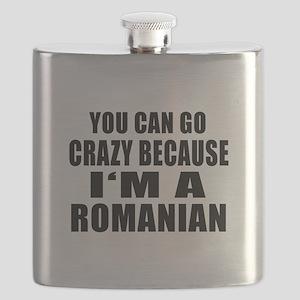 Romanian Designs Flask