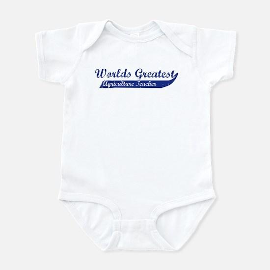 Greatest Agriculture Teacher Infant Bodysuit