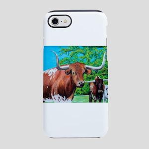 Texas Longhorns iPhone 8/7 Tough Case