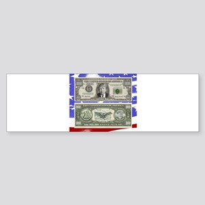 Trump ~ One is a Million Dollar Bill Bumper Sticke
