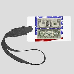 Trump ~ One is a Million Dollar Bill Luggage Tag