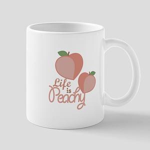 Life Is Peachy Mugs