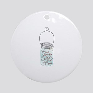 Southern Mess Round Ornament