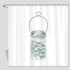 Southern Mess Shower Curtain