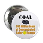 """Coal Concentrated Solar 2.25"""" Button (100 Pac"""