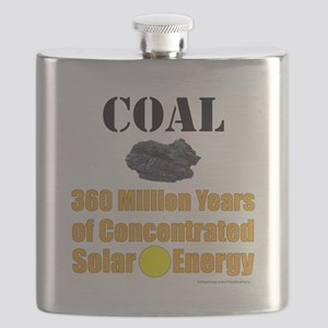 Coal Concentrated Solar Flask