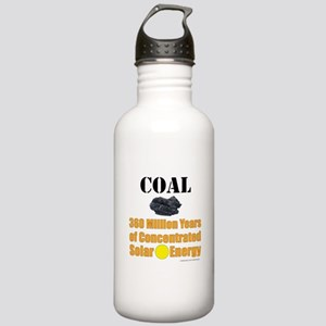Coal Concentrated Solar Water Bottle