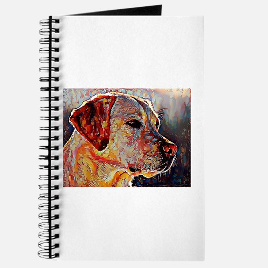 Yellow Lab: A Portrait in Oil Journal