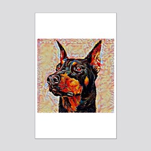 Doberman Pinscher: A Portrait in Mini Poster Print