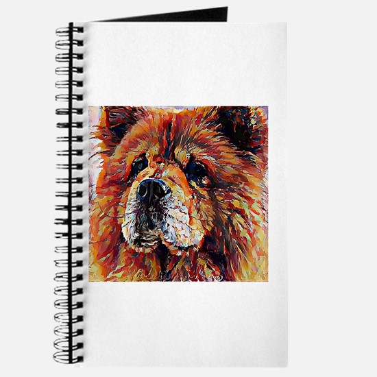 Chow Chow: A Portrait in Oil Journal