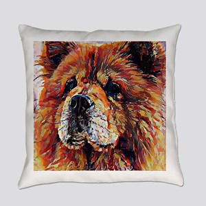 Chow Chow: A Portrait in Oil Everyday Pillow