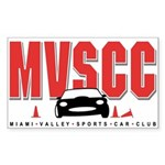 MVSCC Logo Rectangle Sticker