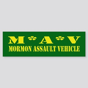 Mormon Assault Bumper Sticker