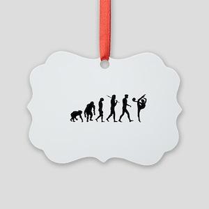 Rhythmic Gymnastics Picture Ornament