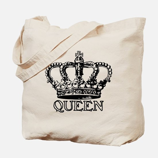 Queen Crown Tote Bag