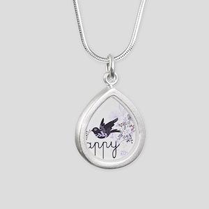 Magpie bird pattern Necklaces