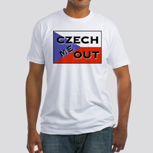 CZECH ME OUT Fitted T-Shirt