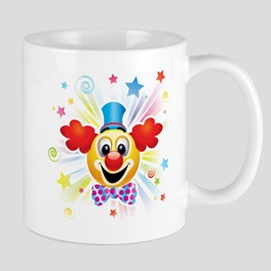 Clown profile abstract design Mugs