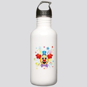 Clown profile abstract Stainless Water Bottle 1.0L