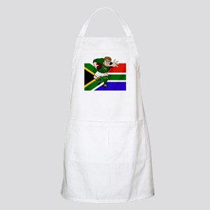Rugby forward South Africa BBQ Apron