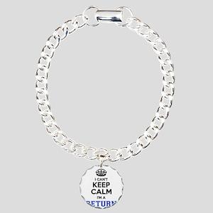 I can't keep calm Im RET Charm Bracelet, One Charm