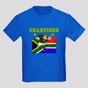 South Africa Rugby Kids Dark T-Shirt