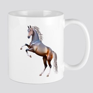 Vivid horses design Mugs