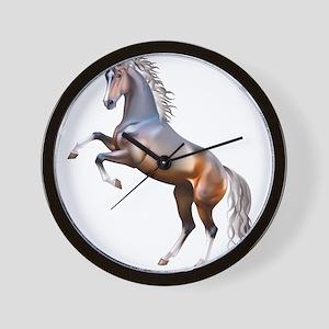 Vivid horses design Wall Clock