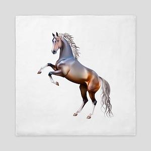 Vivid horses design Queen Duvet