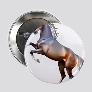 "Vivid horses design 2.25"" Button"