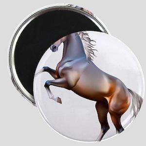 Vivid horses design Magnets