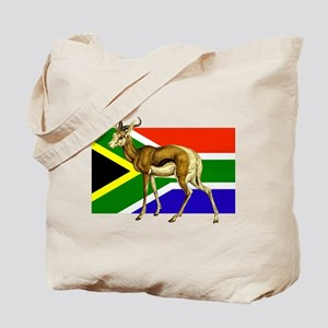 South Africa Springbok Flag Tote Bag