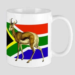 South Africa Springbok Flag Mug
