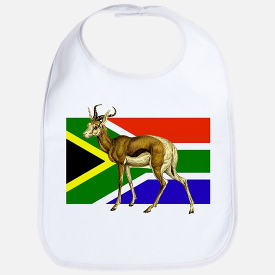 South Africa Springbok Flag Bib
