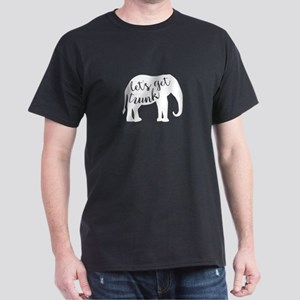 Let's Get Trunk Drinking Elephant T-Shirt