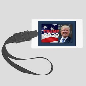 Trump 2020 Large Luggage Tag