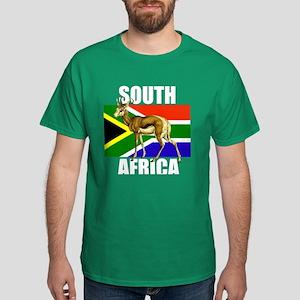 South Africa Springbok Dark T-Shirt