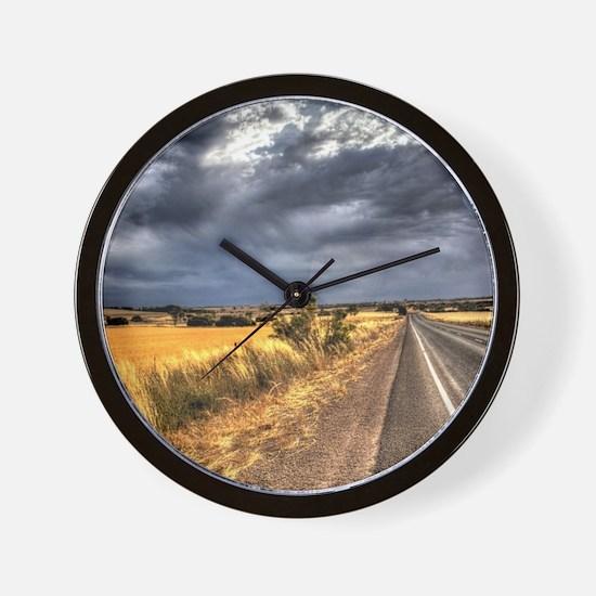 Moody South Australian Road Wall Clock