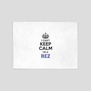 I can't keep calm Im REZ 5'x7'Area Rug