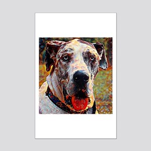 Great Dane: A Portrait in Oil Mini Poster Print