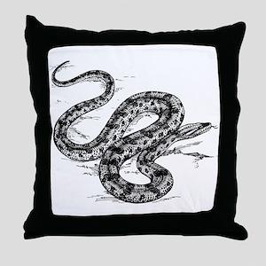 Anaconda clip art Throw Pillow