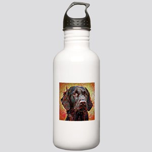 Flat Coated Retriever: Stainless Water Bottle 1.0L